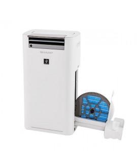 6 sensorowy inteligentny oczyszczacz i nawilżacz powietrza z technologią Plasmacluster SHARP KC-G50EUW