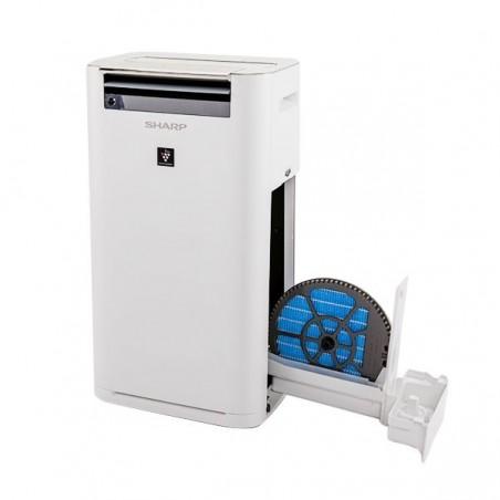Inteligentny oczyszczacz powietrza z funkcją nawilżania KC-A60EUW + Generator Plasmacluster HD IG-A10EUW