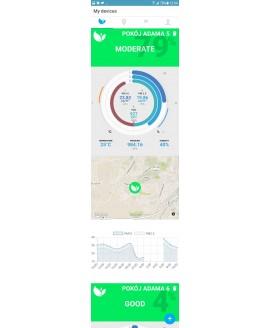 Ecolife AIRSENSOR - monitorowanie jakości powietrza
