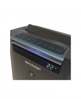 oczyszczacz i nawilżacz powietrza sharp KC-G50EUH panel sterowania z wyświetlaczem