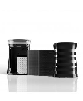 Oczyszczacz powietrza Sharp UA-PM50E-B filtr węglowy HEPA lampa UV