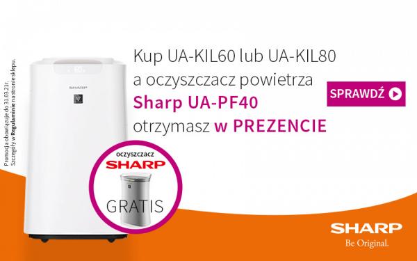 Promocja  SHARP UA-KIL80E-W i UA-KIL60E-W w sklepie MWP trwa dalej